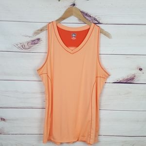 REI Racerback Tank Top 2 toned Orange XL